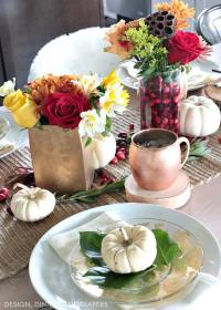 Diy Thanksgiving Table Settings & Extraordinary ...