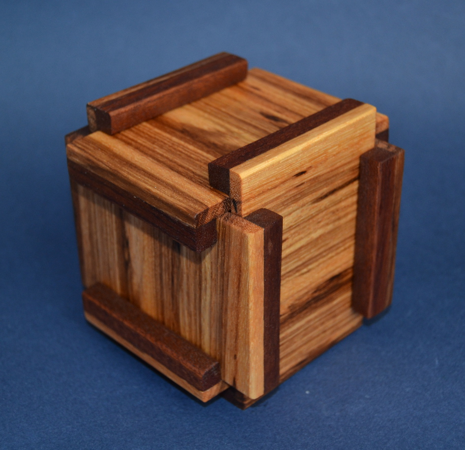 Wood Puzzle Boxes Making PDF Plans