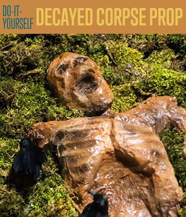 Decayed corpse halloween prop halloween decorating ideas diy ready