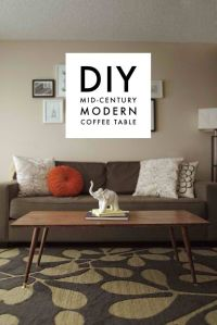 DIY Home Decorating Ideas For Mid Century Modern Lovers