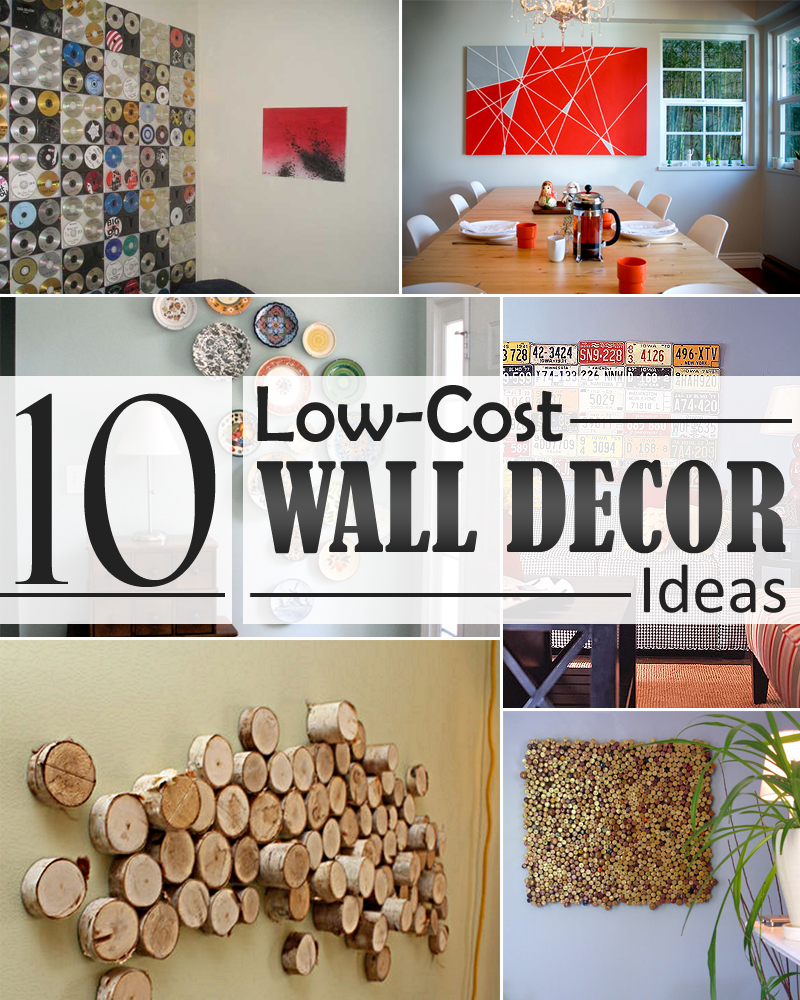 House Decors Ideas 10 Low Cost Wall Decor Ideas That Completely Transform The