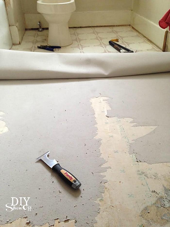 Diy Grouted Vinyl Floor Tiles Diy Show Off Tm Diy