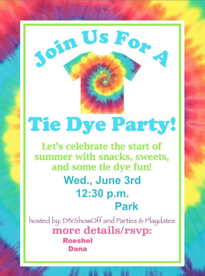 tie dye invitations free 3slufsluidsprekers