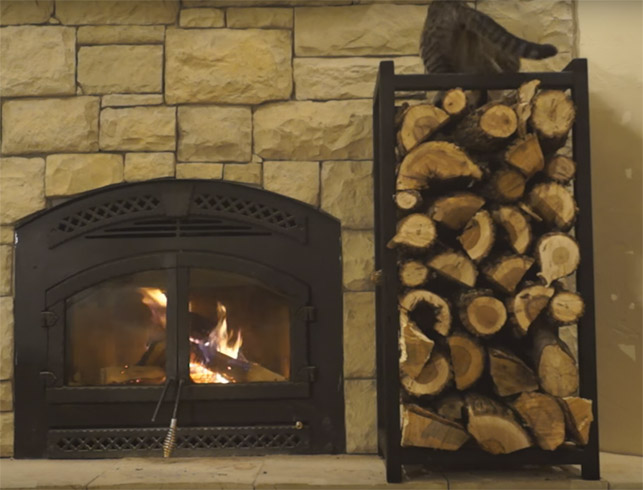 10 Indoor Firewood Storage Ideas Diys To Do