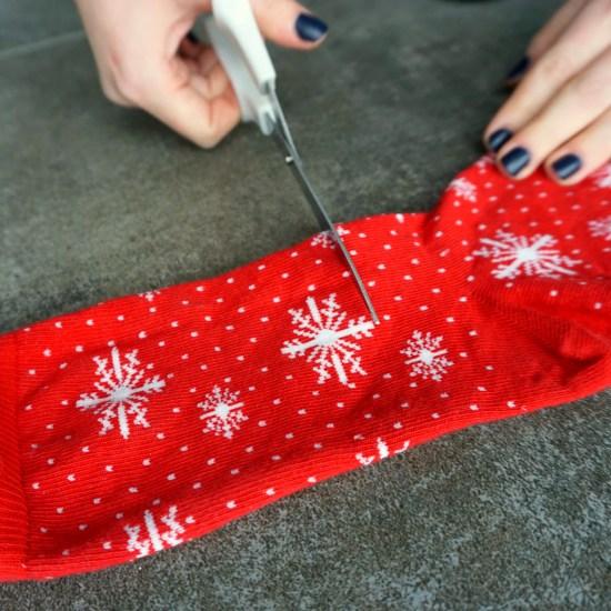 DIY Mug Cozy  Upcycle your Christmas socks