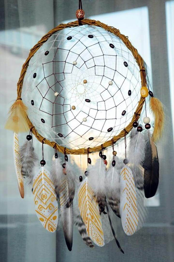 Copper Chandelier 25 Best Diy Feather Project Ideas | Diy To Make