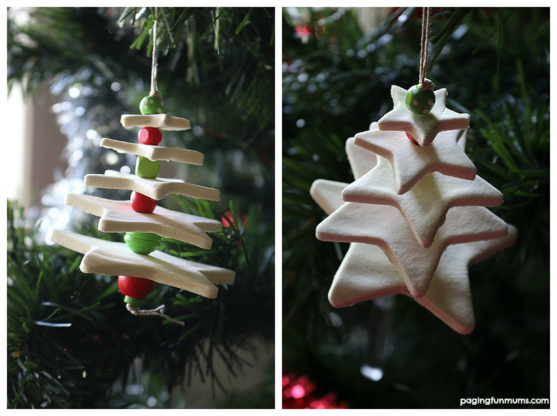 how to make homemade clay for ornaments