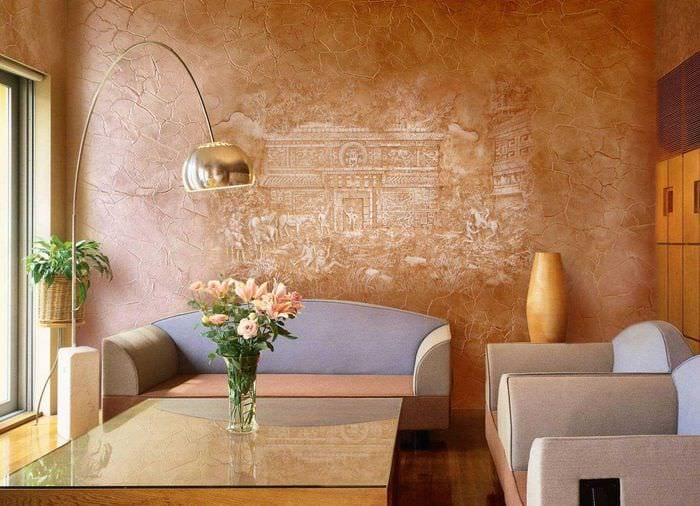 Wall Finishes Ideas Living Room Wall Finish Ideas
