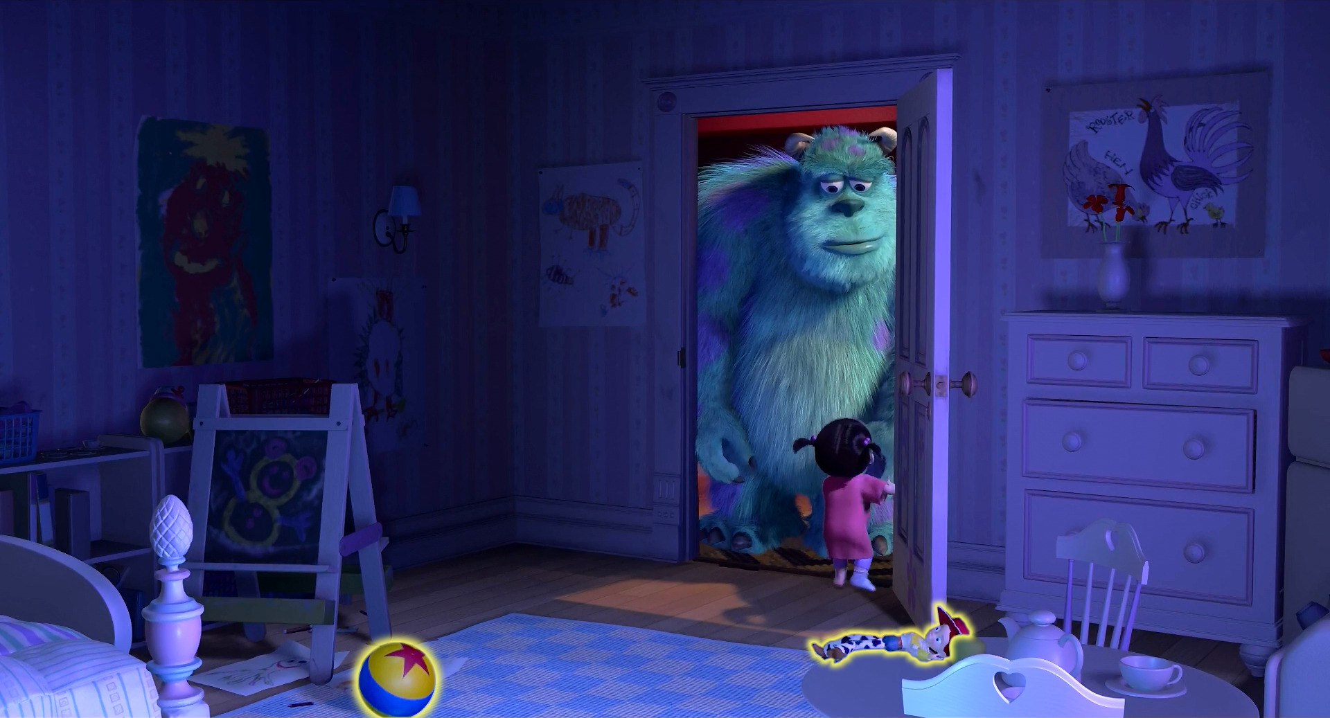 Pixar Cars Bedroom Wallpaper Monsters Inc Djbarchs