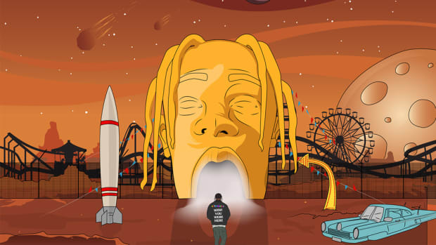 Dr Dre Wallpaper Hd Space Jams How Logic Travis Scott Amp Bas Take On The