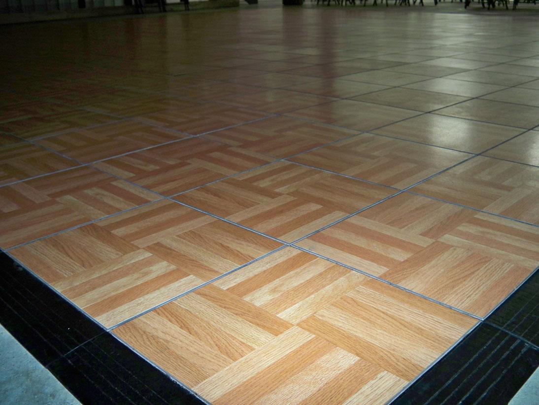 Portable Dance Floors Popup Dance Floors DJCain - Snap lock dance floor for sale