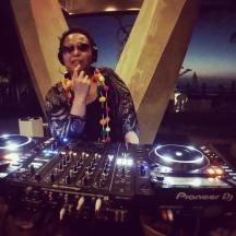 DJing at W hotel Punta de Mita, Mexico