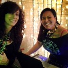 DJing YTWSS at Specials on C with my gurl Julie Sax