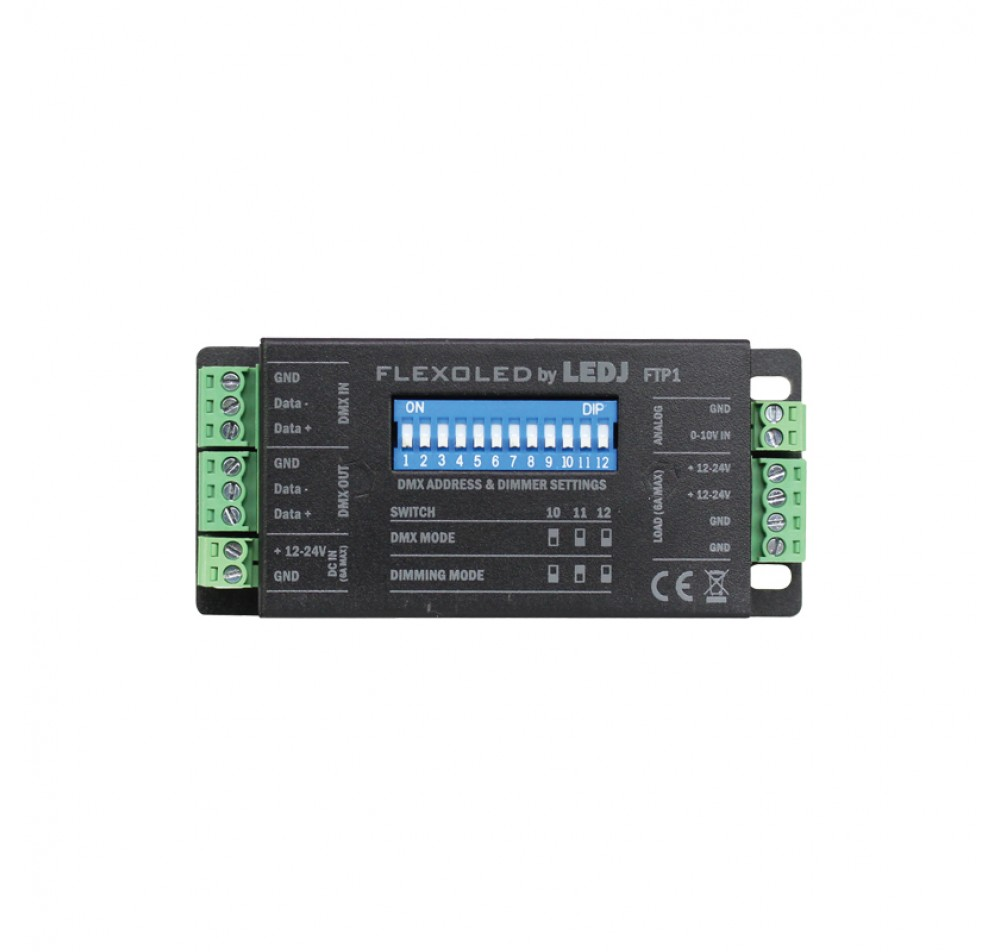 Led Dmx Ledj Flexoled Ftp1 Single Channel Led Dmx Driver