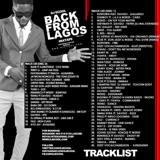 Back From Lagos (Back)