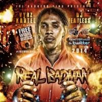 DJ FearLess - Vybz Kartel - Real Badman Mixtape - Cover