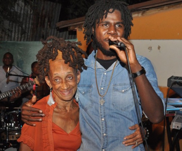 Patsy RIcketts & Chronixx in better times