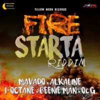 Fire Starta Riddim Mix (November 2015) Yellow Moon Records