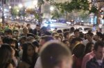 Regular Admission Line at Ultrabar, one of the best DC Nightclubs