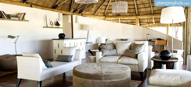 Plush Sofas Hobart Luxury Tents Tarangire Park Tanzania | Safari Camp