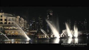 """RIP Whitney Houston- """"I Will Always Love You"""" at the Dubai Fountain"""