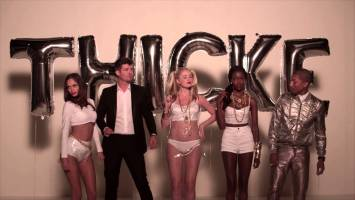 Robin Thicke feat Pharrell & Jimmy Kimmel- Blurred Lines (Comedy Version) Music Video