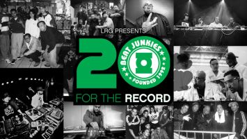 The Beat Junkies- For The Record