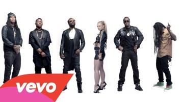 will.i.am feat Britney Spears, Diddy, Lil' Wayne, Waka Flocka & Hit Boy- Scream & Shout Remix (Music Video)