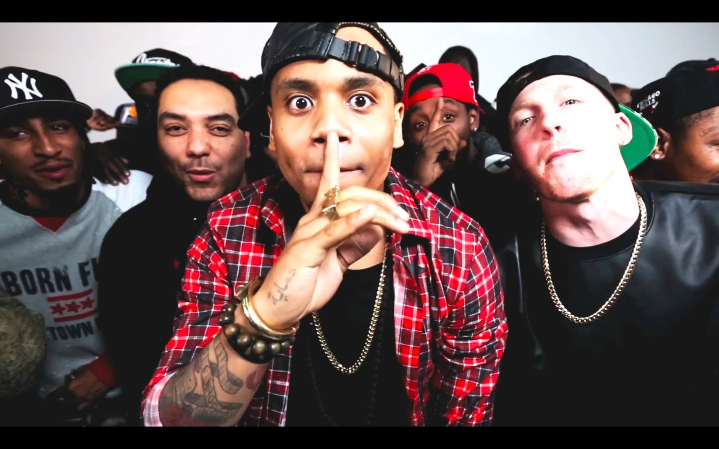 Maino, Bodega Bamz, Chinx, Troy Ave, Mack Wilds- Banned From Radio (Presented by Cipha Sounds & Drewski) Music Video