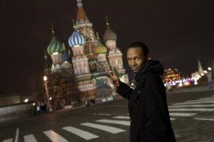 DJ Reg West in Moscow