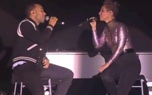 John Legend and Alicia Keys, two artists cited by Chris Jasper among this generation's favorites.