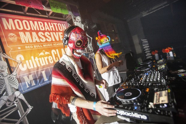 Moombahton Massive performs at the Red Music Academy Culture Clash Miami on Oct. 24. Image Credit: Robert Snow / Red Bull Content Pool