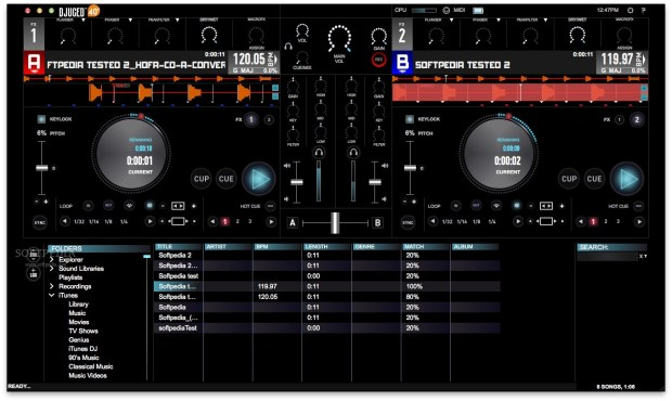 DJUCED: Capable DJ Software from Hercules
