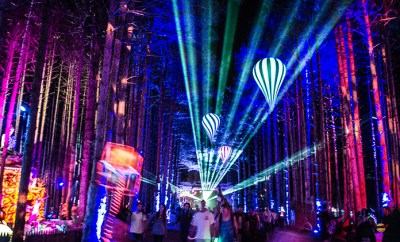 Electric Forest 2014 - The Trees