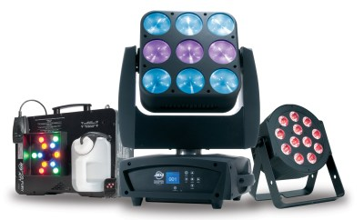 New for LDI: ADJ's latest trio.