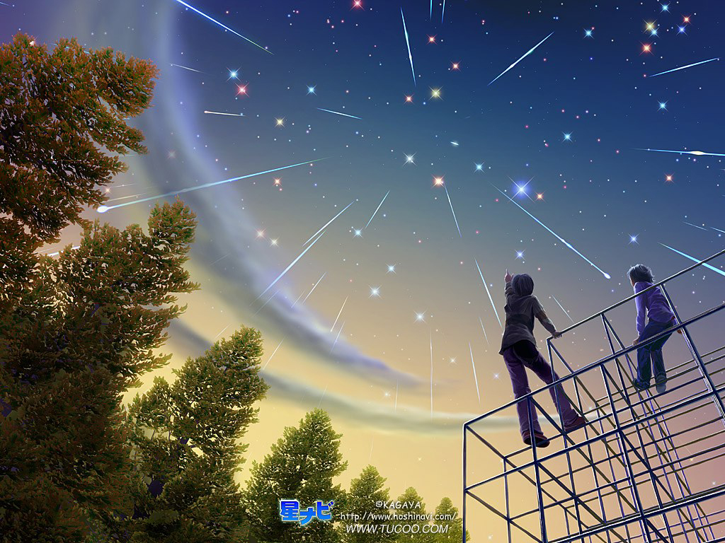 Sekian Minggu Langit Tertutup Awan Maka Malam Ini Nampak