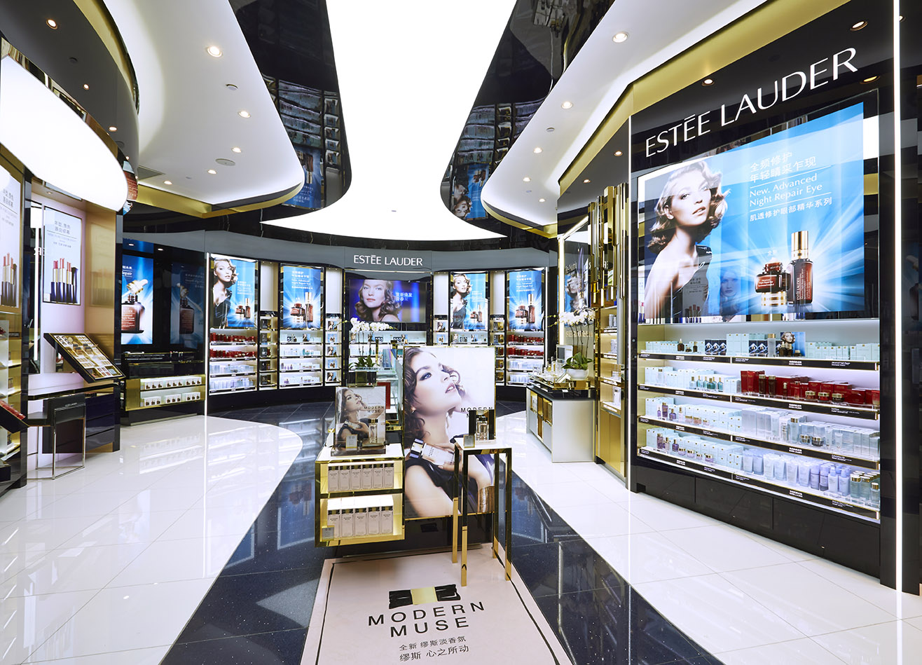 Boutique Free Tours Estée Lauder Introduces Largest Travel Retail Flagship At