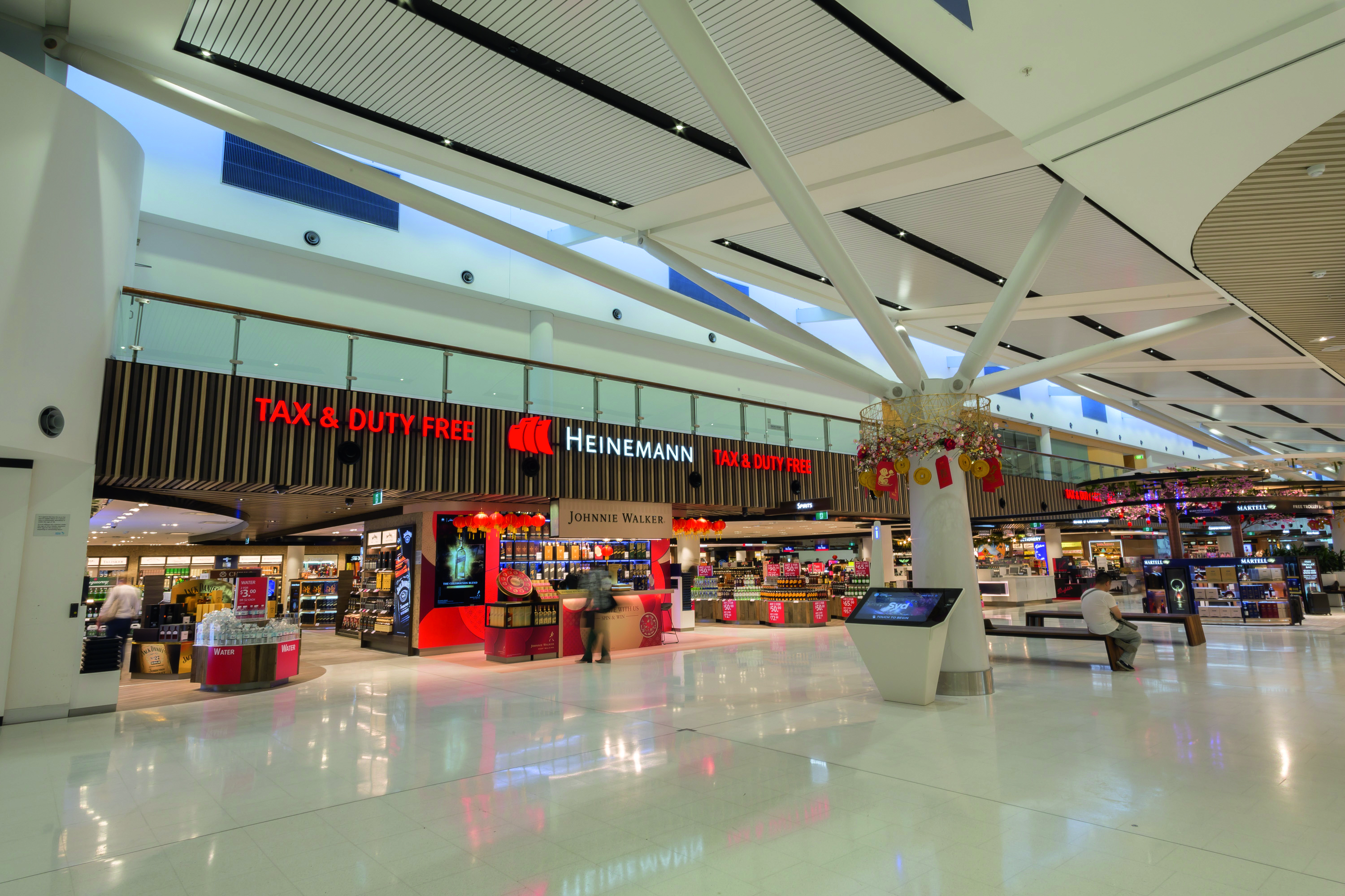 Map Store Sydney Sydney Airport Defines 2017 Retail Strategy