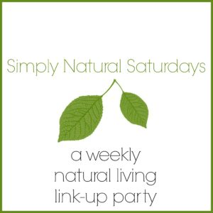 Simply Natural Saturdays Button