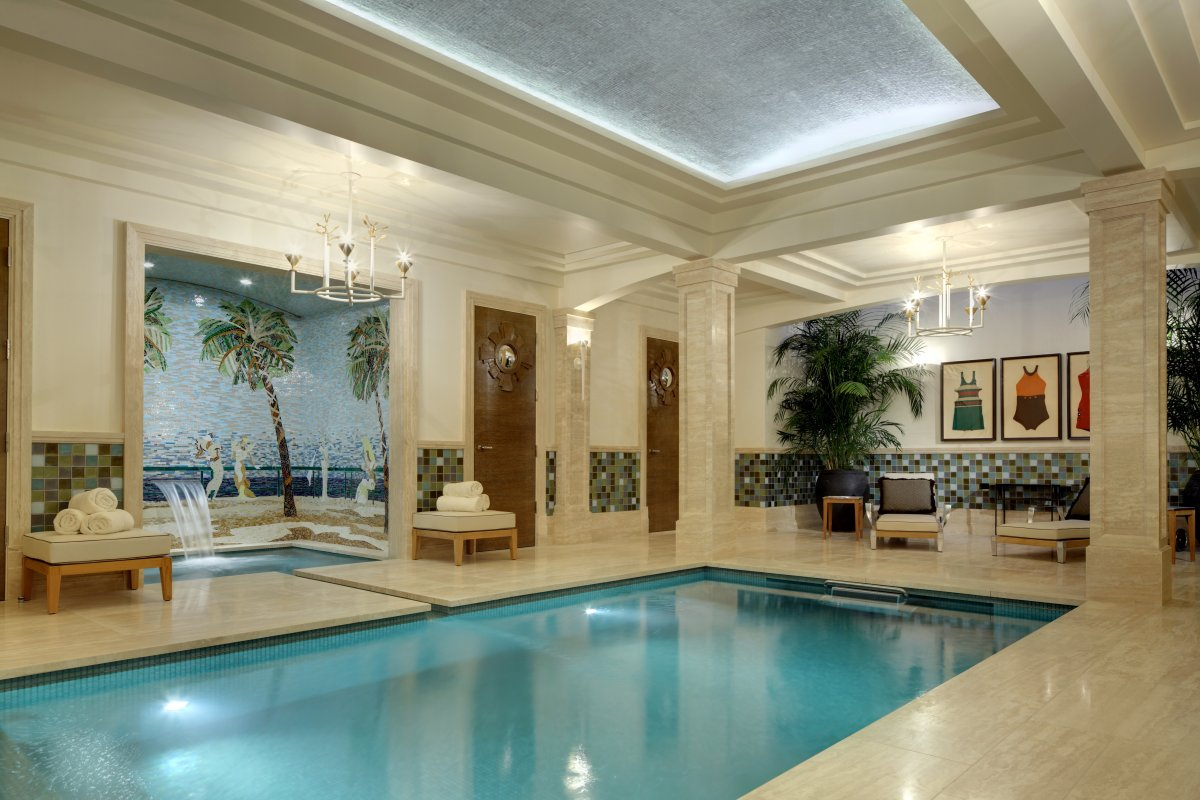 Deco Pool House Deco Inspired Villa By Joan Behnke Dk Decor
