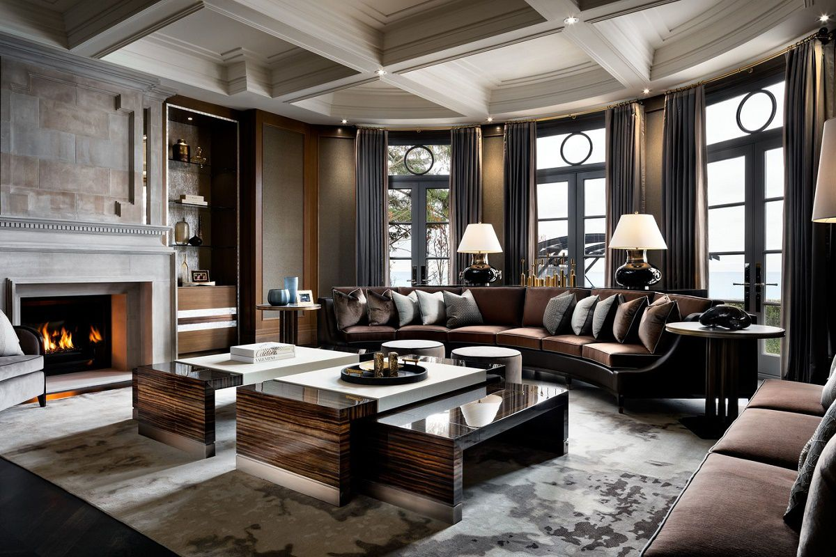 Luxurious Living Room Design Iconic Luxury Design Ferris Rafauli Dk Decor