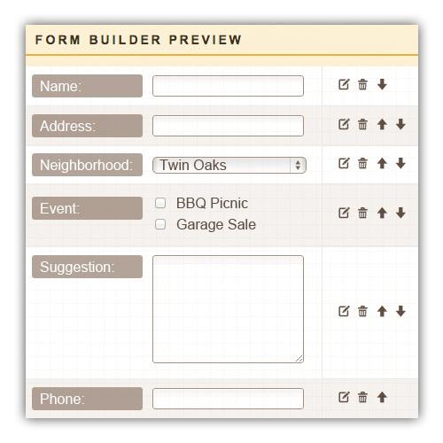 HOA Websites Homeowner Association Websites HOA Website Design - neighborhood website templates