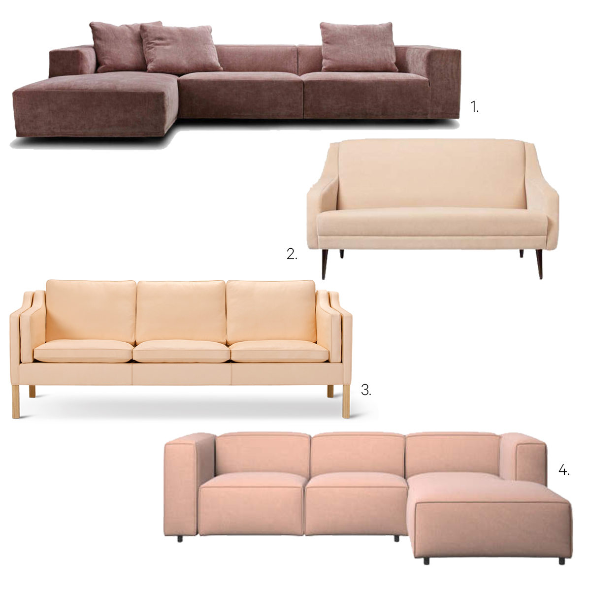 Rund Sofa Ilva Shopping 101 Sofaer Kæmpe Sofa Guide