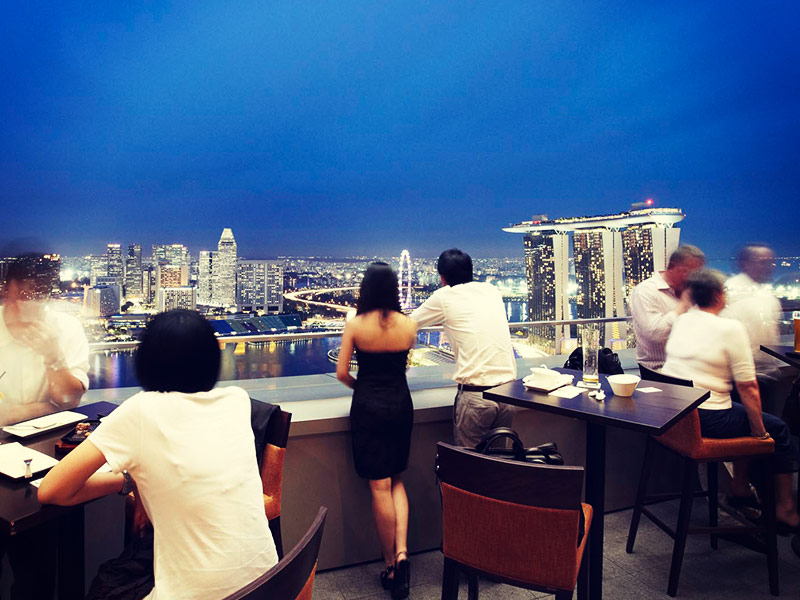 Level 33 First Stop Singapore