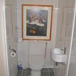 Door ons verbouwd toilet