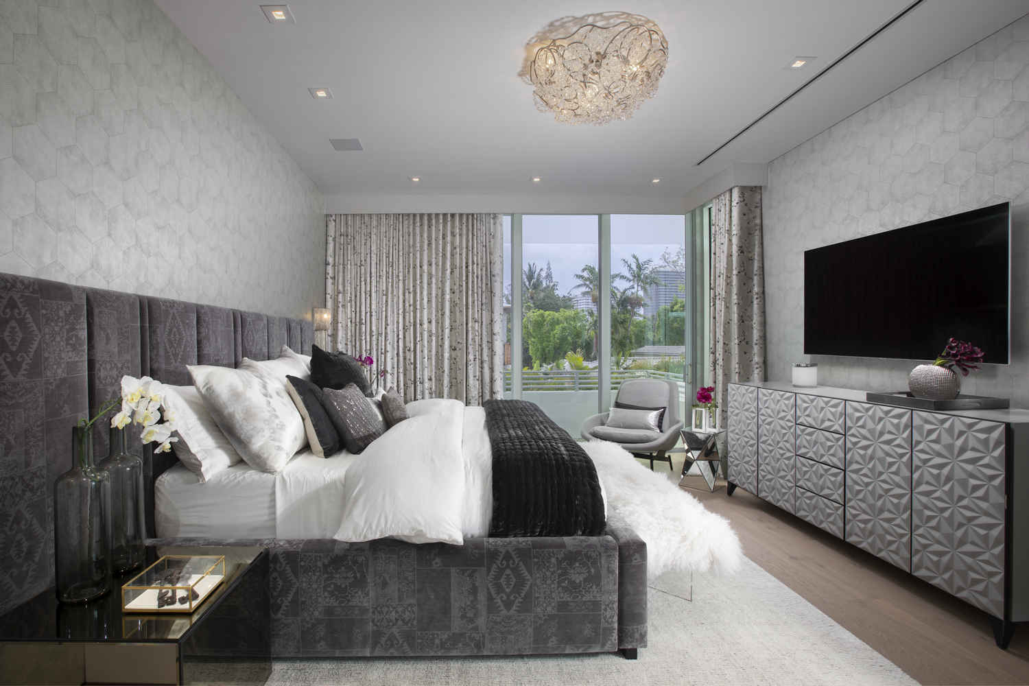 Home Design Bedroom Interior Design Bal Harbour Modern Wonderland Home Dkor Interiors