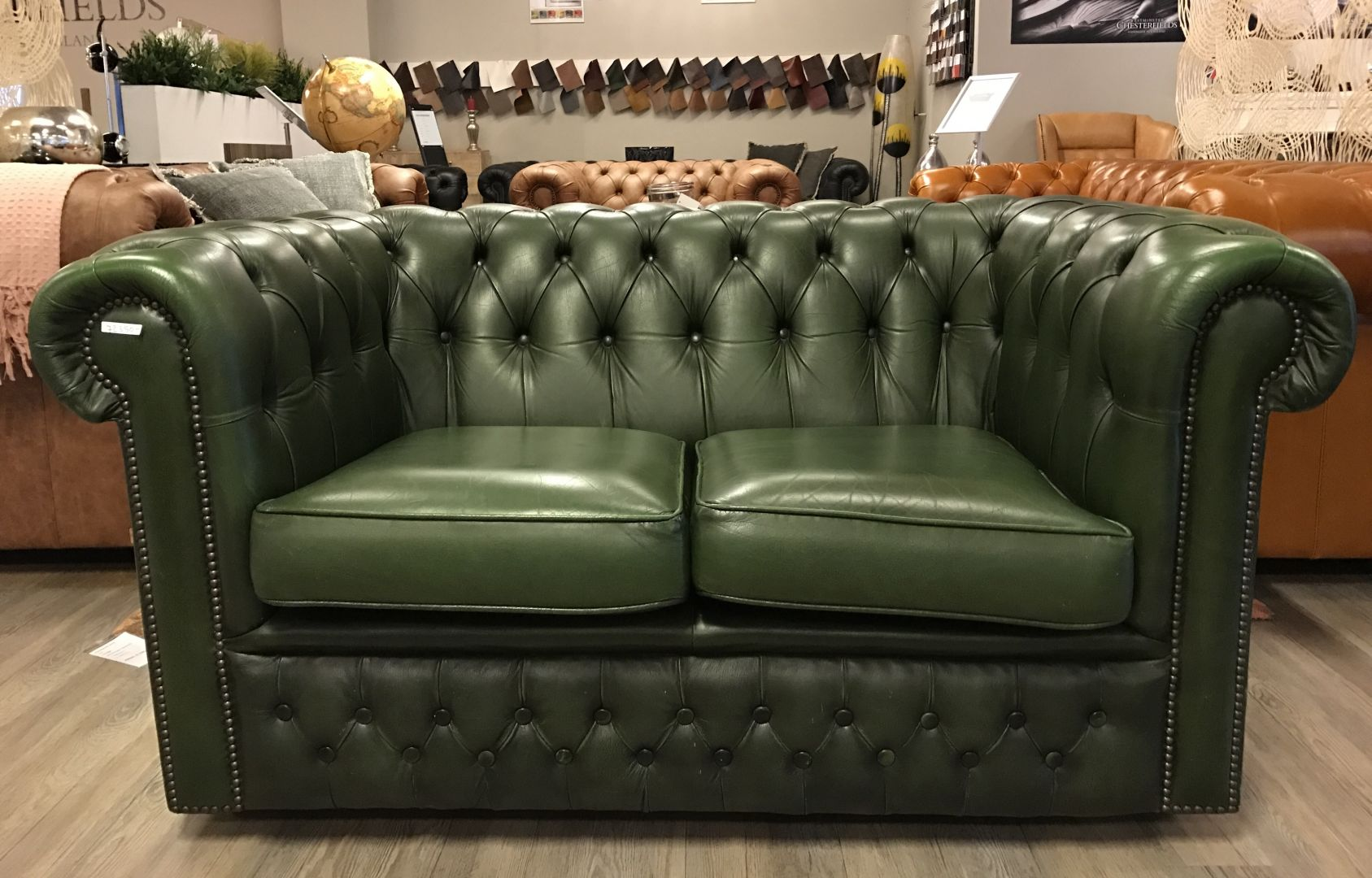 Chesterfield Bank Engelse Chesterfield Zithoek 2 Zits Bank 43 Club Fauteuil