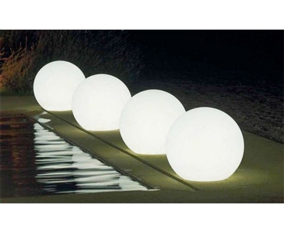 Led Bol Tuin Led Solar Bol Op Voet Miami | Led Lovers