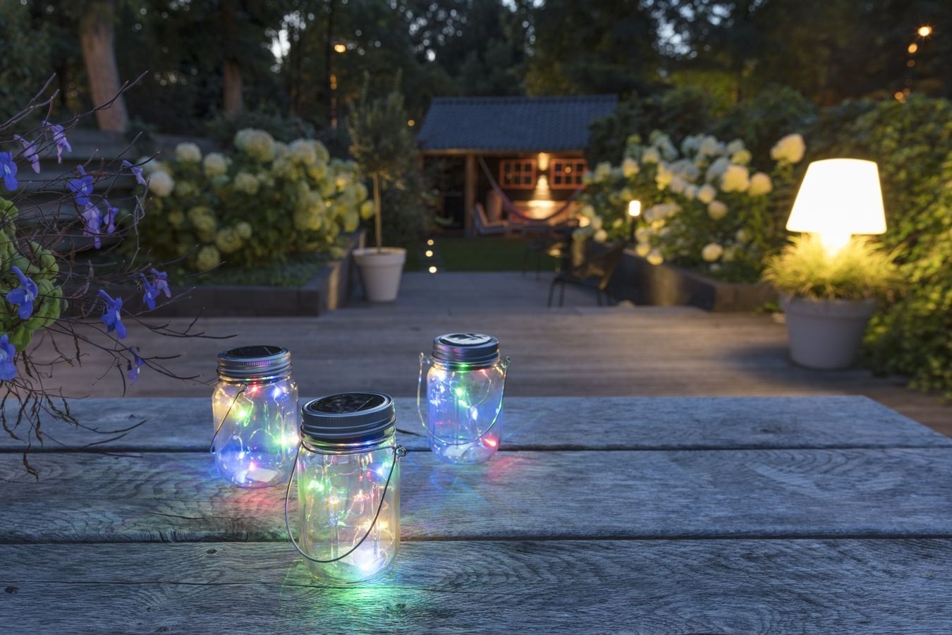Ouderwetse Tuin Verlichting Led Solar Lamp In Pot Detroit Yrgb Led Lovers