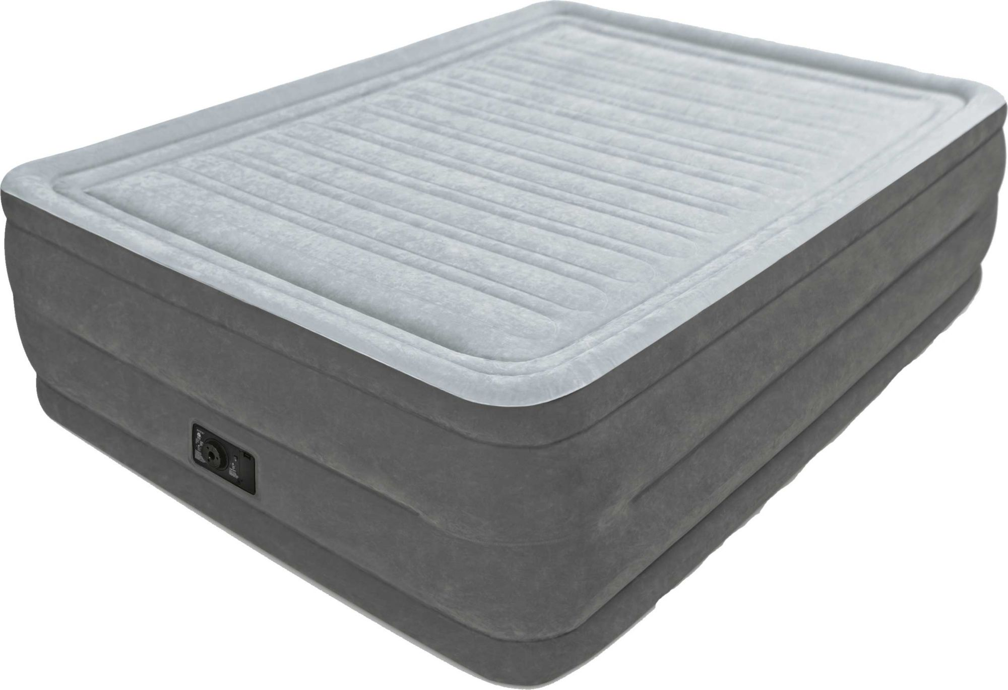 Intex Built In Pump Intex Comfort Plush Queen Air Mattress With Built In Pump